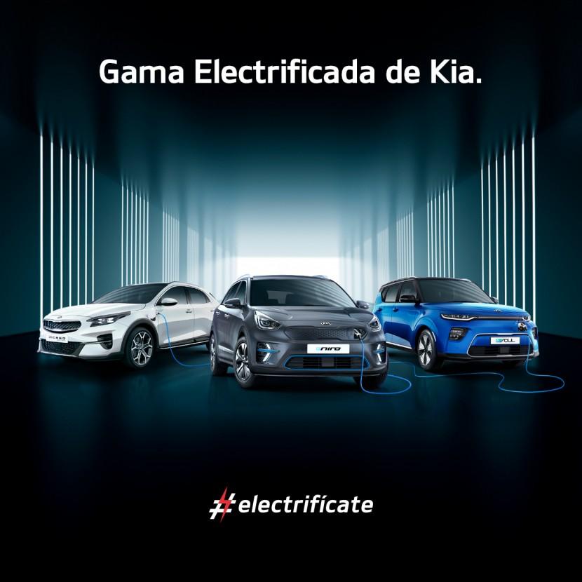 Electrifícate con Kia y Cirasa
